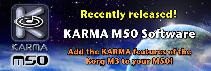 Korg M50 Workstation - Karma-Lab Forums